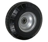 "8"" x 2-3/4"" - 2-1/4"" Hub Length - Offset Hub - Flat-Free (Poly-Foam Tire) - 250 lb Capacity"