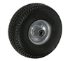 "10"" x 3"" - 4"" Hub Length - Centered Hub - Flat-Free (Poly-Foam Tire) - 280 lb Capacity"