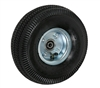 "10"" x 3-1/2"" - 2-1/4"" Hub Length - Offset Hub - Pneumatic Wheel (Air Filled) - 350 lb Capacity"