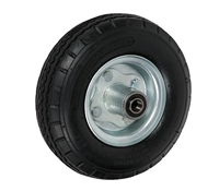 "8"" x 3"" - 3-3/16"" Hub Length - Centered Hub - Pneumatic Wheel (Air Filled) - 250 lb Capacity"