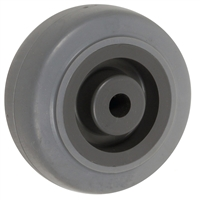 "2-1/2"" X 1-1/4"" GRAY THERMO RUBBER (NON MARKING) WHEEL - 250 LBS CAPACITY"