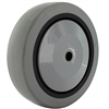 "5"" X 1-1/4"" GRAY THERMO RUBBER (NON MARKING) WHEEL - 300 LBS CAPACITY"