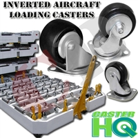 Inverted Aircraft Loading Caster
