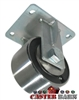 "6"" x 3"" Kingpinless Rigid Caster - Forged Steel Wheel - 10,000 Lbs Capacity"