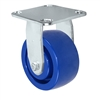 "5"" Stainless Rigid Caster - Solid Polyurethane Wheel"