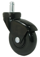 "3"" Black Chair Caster"