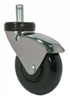 "3"" Chrome Chair Caster"