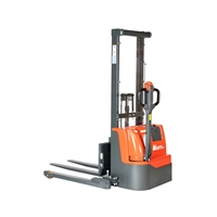 Electric Stacker 114″ Lift Height -  2,200 lbs Capacity
