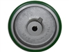 "10"" x 3"" Polyurethane Tread Keyed Drive Wheel with a ​3-1/4"" Hub Length and 22mm Bore Size - CasterHQ Brand - Highest Quality in the Industry - MADE IN USA - Tread Re-bonding available as well"