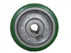 "5"" x 2"" Polyurethane Tread Keyed Drive Wheel with a ​2-3/16"" Hub Length and 12mm Bore Size - CasterHQ Brand - Highest Quality in the Industry - MADE IN USA - Tread Re-bonding available as well"