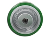 "8"" x 3"" Polyurethane Tread Keyed Drive Wheel with a ​3-1/4"" Hub Length and 30mm Bore Size - CasterHQ Brand - Highest Quality in the Industry - MADE IN USA - Tread Re-bonding available as well"