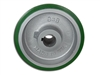 "8"" x 3"" Polyurethane Tread Keyed Drive Wheel with a ​3-1/4"" Hub Length and 24mm Bore Size - CasterHQ Brand - Highest Quality in the Industry - MADE IN USA - Tread Re-bonding available as well"