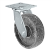 "5"" X 2"" High Temperature Glass Filled Nylon Wheel Swivel Caster - 1,000 lbs Capacity"