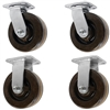 "4"" x 2"" High Temp Swivel Caster Set of 4"