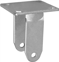 """Rig Only - No Wheel 5""""x 2"""" With  4/"""" x 4-1//2/"""" Top Plate Rigid Caster Fork with"""