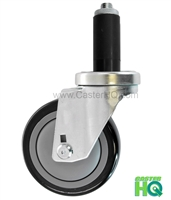 "3"" X 1-1/4"" Swivel Caster 