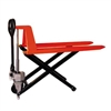 "HL2045 Scissor Lift Pallet Jack Truck | Wheels Polyurethane on Steel | 27"" Width 