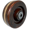 "6"" x 2"" Hi-Temp Phenolic Wheel - 1,200 LBS cap."