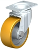 Blickle 4 Inch Swivel Caster | 615 Lbs Load Capacity With Ball Bearings
