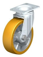 5 inch Swivel Caster with Polyurethane Extrathane Wheel | Load Capacity 400 lbs