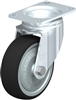 Blickle 4 inch Swivel Caster w/ Thermoplastic Poly Wheel | 990 lb Capacity