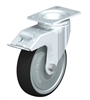Blickle 5 inch Swivel Caster with Brake | 1,760 Lbs Capacity