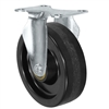 "5"" X 1.25"" Light Duty Phenolic Wheel - Rigid Caster - 350 lb Cap"