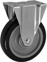 "5"" X 1.25"" Polyurethane on Polyolefin Wheel - Rigid Caster"