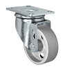 "4"" X 1.25"" Light Duty Semi-Steel Wheel - Swivel Caster"
