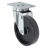 "5"" X 1.25"" Light Duty Polyolefin Wheel - Swivel Caster"