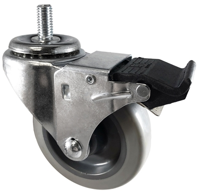 "3"" Total Lock Stem Caster"