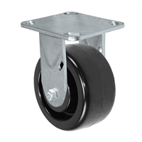 4X2 POLYOLEFIN WHEEL, RIGID CASTER, MEDIUM-HEAVY DUTY