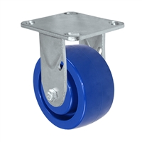 "5""X 2"" Blue Solid Polyurethane Wheel 