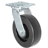 6X2 POLYOLEFIN WHEEL, SWIVEL CASTER, MEDIUM-HEAVY DUTY