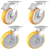 "8"" x 2"" Total Lock Caster Set of 4 