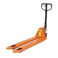 "ML1648 Heavy Duty Pallet Jack Truck | Wheels Polyurethane on Steel | 16"" Width 48"" Length 