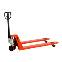 "Long Pallet Jack - 4,400 lbs Capacity - Fork Size - 27"" x 60"""