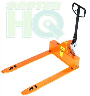 "ML3348LP | 4-Way Pallet Jack Truck - 3,300 lbs Capacity - Fork Size - 33"" x 48"""