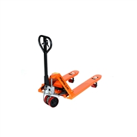 "Hand Brake Pallet Jack - 5,500 lbs Capacity - Fork Size - 27"" x 48"""