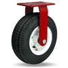 "Hamilton Cush-N-Aire Rigid Caster with 10"" Pneumatic Air-Filled Tire with 17mm Sealed Precision Ball Bearing"