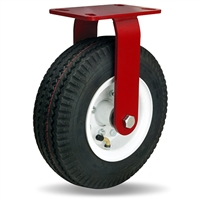 "Hamilton Cush-N-Aire Rigid Caster with 10"" Pneumatic Air-Filled Tire with 3/4"" Precision Tapered Roller Bearings"