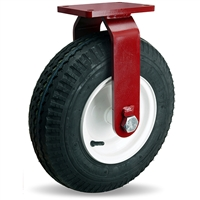 "Hamilton Cush-N-Aire Rigid Caster with 16"" Pneumatic Air-Filled Tire with 1"" Straight Roller Bearing"