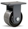 "Hamilton Champion Rigid Caster with 6"" x 3"" Forged Steel Wheel with 3/4"" Precision Ball Bearing"