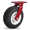 "Hamilton Cush-N-Aire Swivel Caster with 10"" Pneumatic Air-Filled Tire with 3/4"" Precision Tapered Roller Bearings"