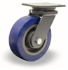 "Hamilton Champion Swivel Caster with 6"" x 3"" Ergo-Glide XT 1"" thick Polyurethane (85A) on Cast Iron Wheel with 3/4"" Sealed Precision Ball Bearings"
