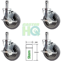 Metro Shelving Caster Set