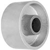 "4"" X 2"" GRAY IRON SEMI STEEL WHEEL - 700 LBS CAPACITY"
