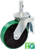 "6"" x 2"" Scaffolding Caster with Total Lock Brake - Poly on Steel Wheel"