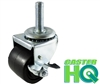 2 Inch Low Profile Caster with Brake