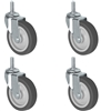 Metro Shelving Stem Caster Set